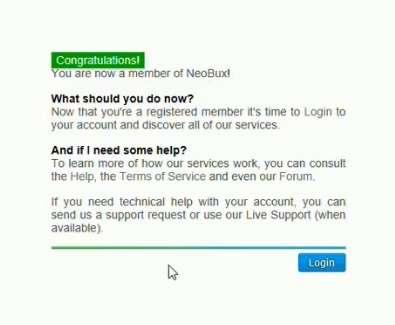 Как зарегистрироваться на Необуксе (Neobux)