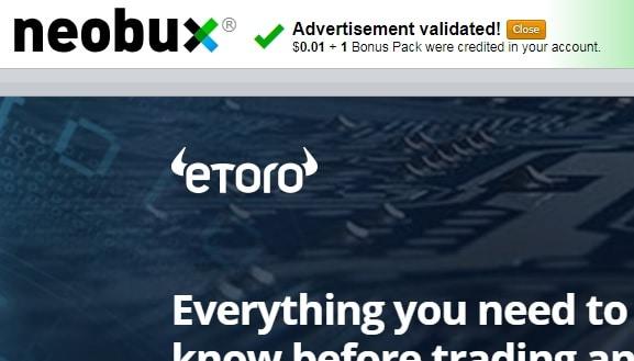 Страница View Advertisements в Необуксе